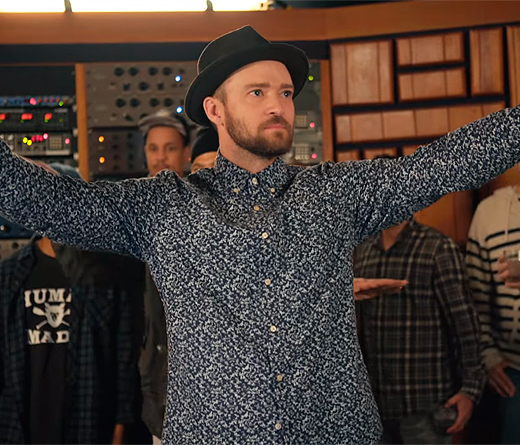 "CMTV - ""Can't Stop The Feeling"" de Justin Timberlake"