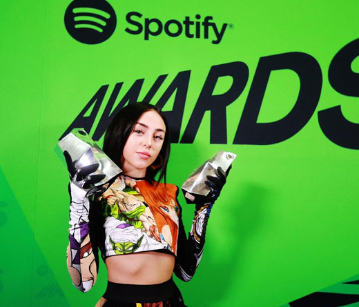 Nicki Nicole - Nicki Nicole la rompió en los Spotify Awards