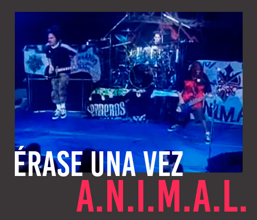 Animal - El épico recital de A.N.I.M.A.L. en un ring en 1998