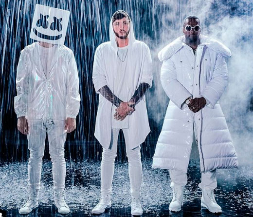 CMTV - You Can Cry: la fusión de Marshmello, Juicy J y James Arthur