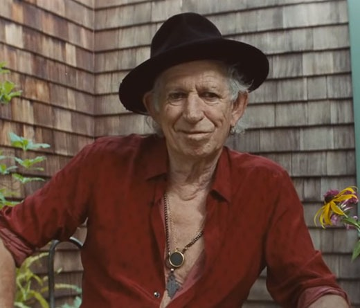 "Así es ""Hate It When You Leave"", el nuevo video de Keith Richards."
