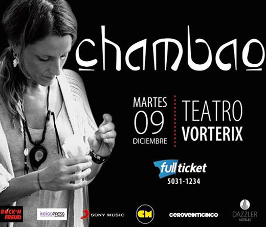"Chambao - Presenta ""10 Años Around The World"""