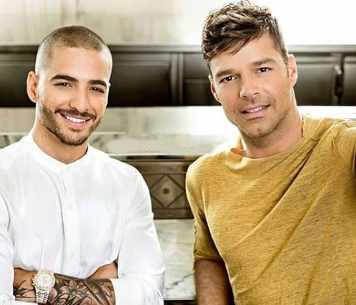 Maluma - Maluma y Ricky Martin graban video