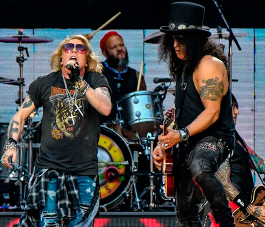 "CMTV - Guns N´ Roses tocó ""Shadow of Your Love"