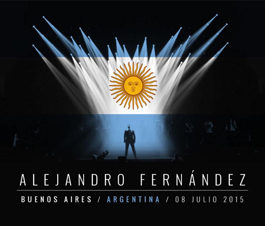 Alejandro Fernández - Confidencias World Tour 2015