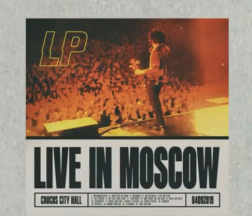 "CMTV.com.ar - LP lanza ""Live In Moscow"""