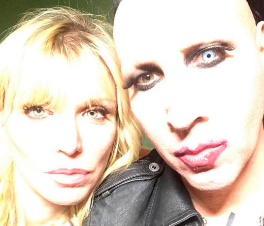 CMTV - Courtney Love en un video de Marilyn Manson