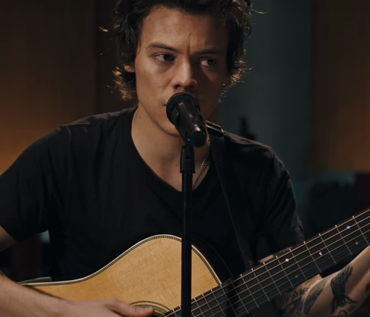 CMTV - Harry Styles lanza nuevo video en estudio