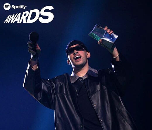 Bad Bunny - Bad Bunny, el ganador de Spotify Awards 2020