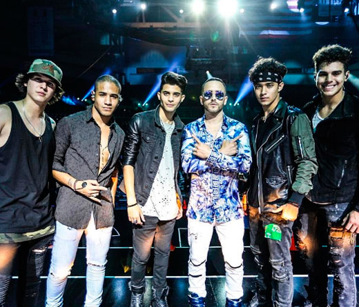 "Cnco - Adelanto del video ""Hey DJ"""