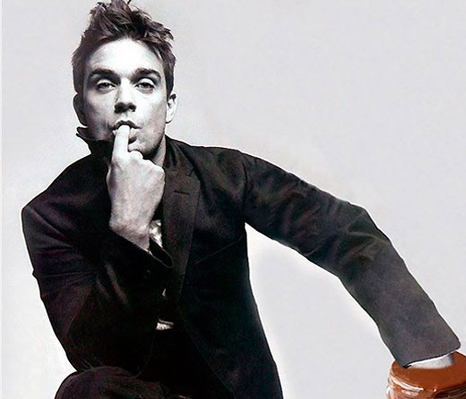 CMTV - Robbie Williams desnudo