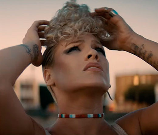CMTV - P!nk  estrena el video What About Us