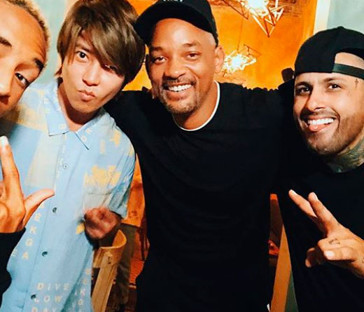 Nicky Jam - El baile de Will Smith y Nicky Jam