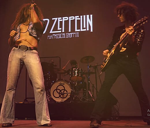 CMTV.com.ar - Show de Led Zeppelin por Physical Graffiti