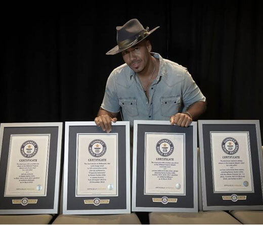Romeo Santos - Romeo Santos en el Guinness World Records