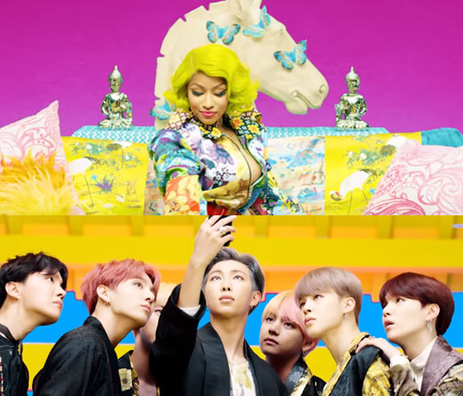 K-Pop - Idol, nuevo video de BTS con Nicki Minaj