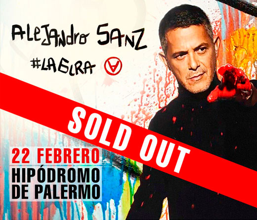 Alejandro Sanz - Sold Out en Argentina