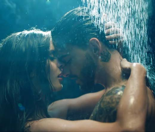 Maluma - Mirá Felices los 4, el video hot de Maluma
