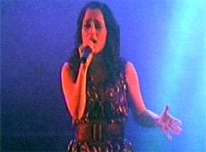 Julieta Venegas video Canciones de amor - Estadio Pepsi 08/06/2007