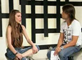 Belinda video Entrevista piso CM 12/4/2010 - Entrevista piso CM 12/4/2010