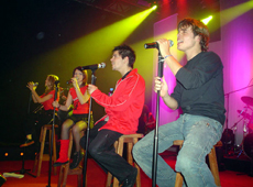 Erreway video Sweet baby - CM Vivo noviembre 2004