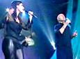 Laura Pausini video Separate lives - Vivo en Switzerland 2005 con Phill Collins