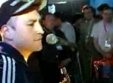 Leo García video Isla - Rareza acústica diciembre 2001