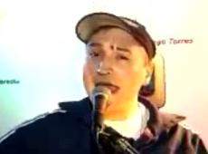 Leo García video No me arrepiento - Rareza acústica diciembre 2001
