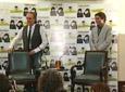 Joaquín Sabina video Conferencia de prensa - Presentan La Orquesta del Titanic con JM Serrat