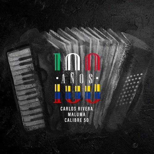 Maluma - 100 AÑOS (FT. CARLOS RIVERA - CALIBRE 50) - SINGLE