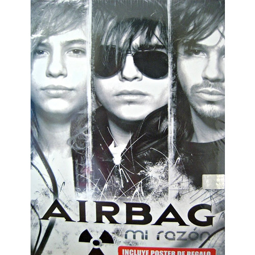 Tapa del CD MI RAZON (DVD) - Airbag