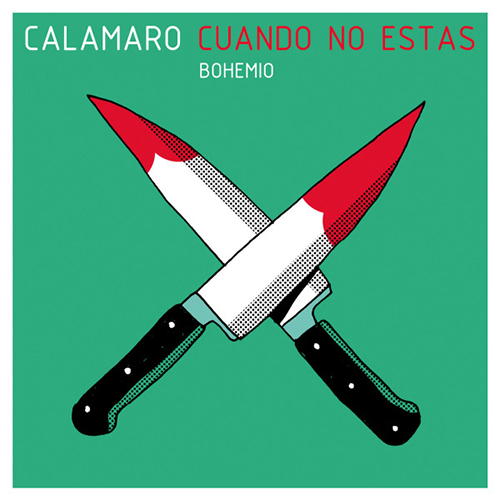 Tapa del CD CUANDO NO EST�S - SINGLE - Andr�s Calamaro