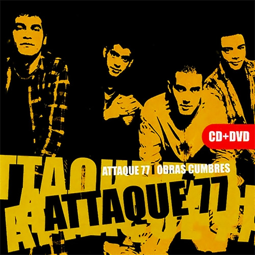 Tapa del CD OBRAS CUMBRES - DVD - Attaque 77