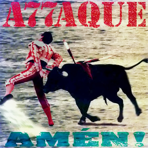 Tapa del CD AMEN - Attaque 77
