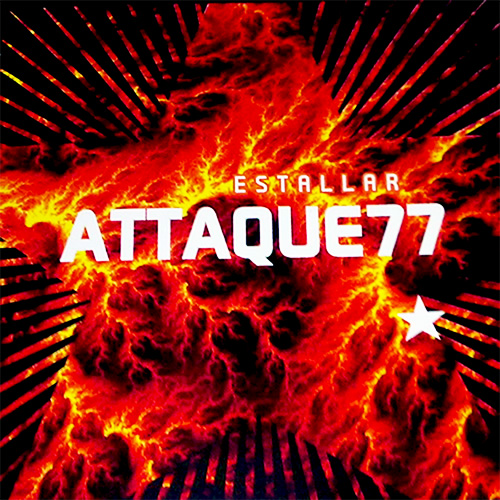Tapa del CD ESTALLAR - Attaque 77