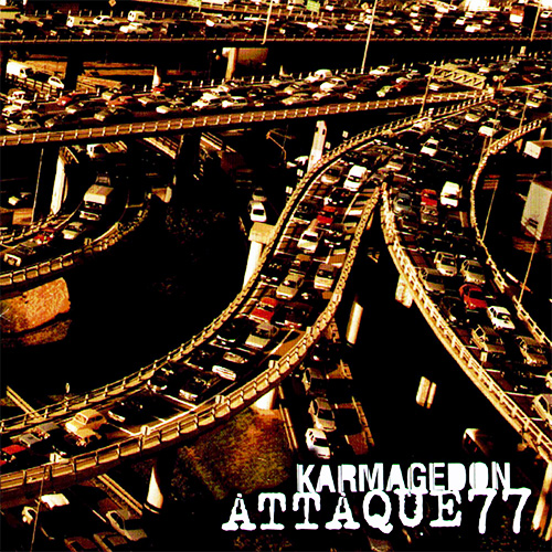 Tapa del CD KARMAGED�N - Attaque 77