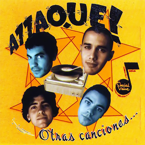Tapa del CD OTRAS CANCIONES - Attaque 77