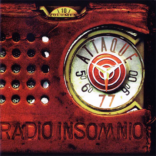 Tapa del CD RADIO INSOMNIO - Attaque 77