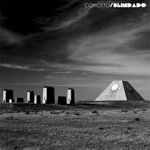 Tapa del CD BLINDADO - Baltasar Comotto