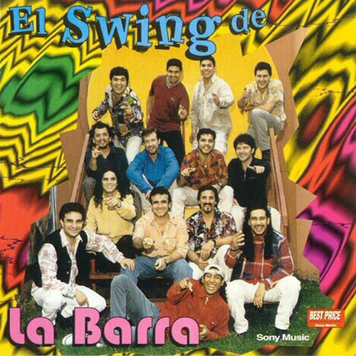Tapa del CD EL SWING DE LA BARRA