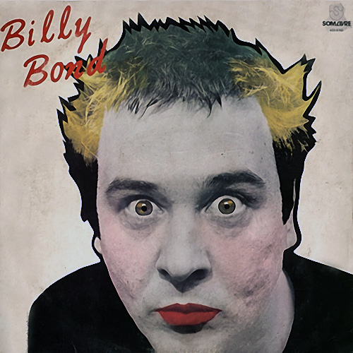 Tapa del CD O HEROI - Billy Bond y la Pesada del Rock and Roll