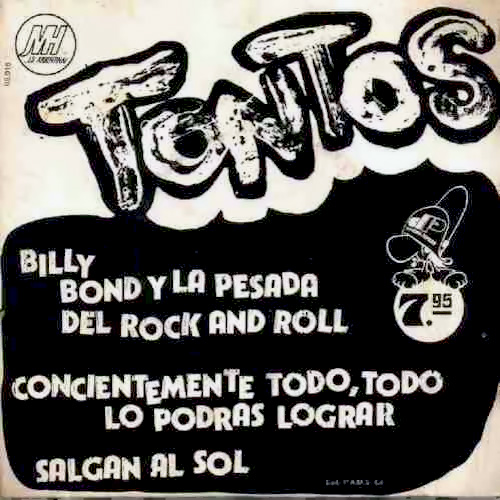 Tapa del CD TONTOS (SINGLE) - Billy Bond y la Pesada del Rock and Roll