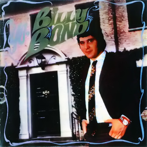 Tapa del CD YO, BILLY BOND - Billy Bond y la Pesada del Rock and Roll