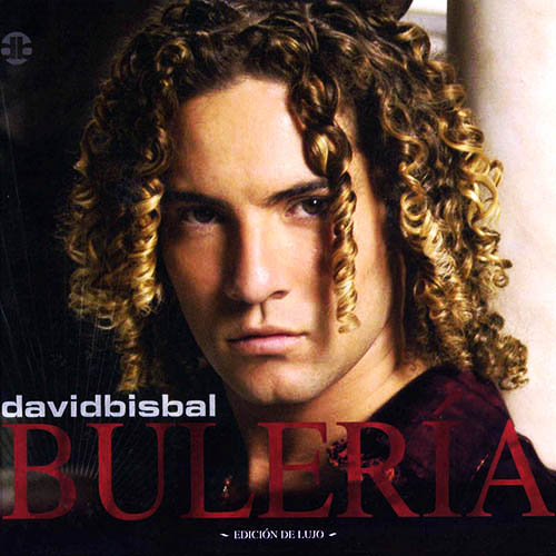 Tapa del CD BULER�A - David Bisbal
