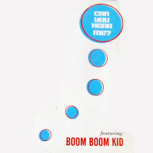Tapa del CD CAN YOU HEAR ME? - Boom Boom Kid