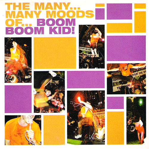 Tapa del CD THE MANY MANY MOODS OF - Boom Boom Kid