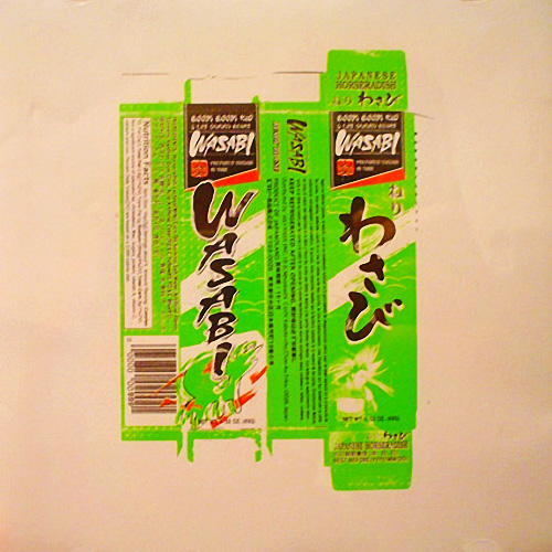 Tapa del CD WASABI (MAXI SINGLE)