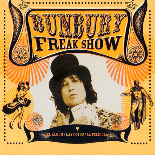 Enrique Bunbury - FREAKSHOW CD + DVD
