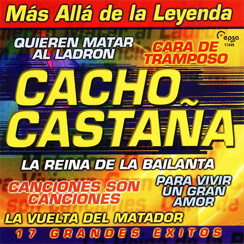 Tapa del CD M�S ALL� DE LA LEYENDA