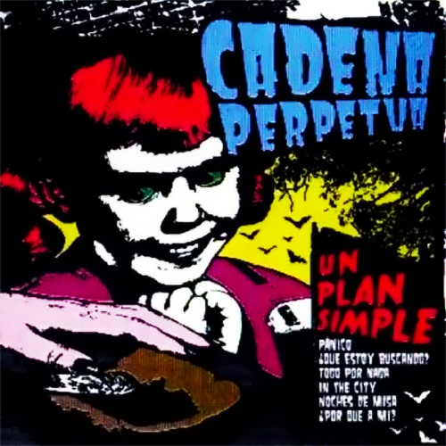 Tapa del CD UN PLAN SIMPLE - Cadena Perpetua